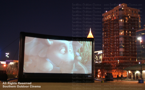Southern Outdoor Cinema: Outdoor Movie Centennial Olympic Park
